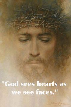 God sees our hearts...