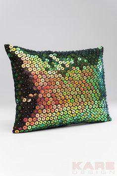 Cushion Mermaid 40x30cm by KARE Design #gold #glitter #glamour #diamonds #sparkle #blingbling #baroque #luxury #KARE #KAREDesign