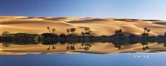 Lake Um el Ma and the Erg Ubari sand dune in the Sahara Desert, Libya Desktop Wallpaper 1920x1080, Full Hd Wallpaper, Wallpaper Gallery, Fantastic Wallpapers, Desert Oasis, Outdoor Survival, Camping Hacks, Portal, Photography