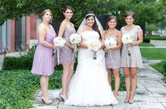 All the ladies :) Got Married, Getting Married, Bridesmaid Dresses, Wedding Dresses, Our Wedding, Hair Makeup, Weddings, Lady, Beautiful
