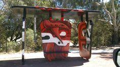 Bus stop Perth