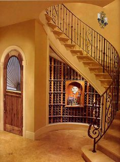 Indoor Stair Railing Ideas | Wrought Iron Stair Railing | Sharing Interior Designs , Architecture ...