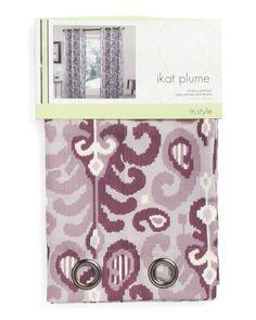 24 x 36 Kess InHouse Anneline Sophia Tropical Paisley Purple White Luxe Rectangle Panel