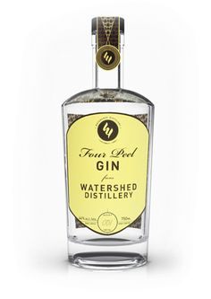 Four Peel Gin from Watershed, our signature product, is a light, modern gin with a smooth body and a unique and aromatic blend of botanicals.