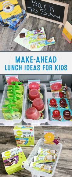 Cold lunches can get boring in a hurry, but not with these Make-Ahead Lunch Ideas! With quick-and-easy tips to help you pack a healthy lunch every day, this guide will be your new favorite resource for back-to-school season. By including ZonePerfect® Kidz Nutrition Bars into the meal idea, you can bet that your kids will love this new recipe inspiration!