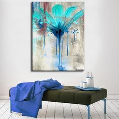Ready2HangArt 'Painted Petals LII' Canvas Wall Art | Overstock.com Shopping - The Best Deals on Gallery Wrapped Canvas