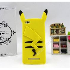 Carcasa 3D diseño divertido pikachu para tu móvil Xiaomi Mi4i / Mi4C