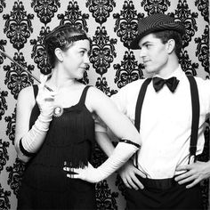 This NYC duo are perfect for prohibition parties and roaring 20s themed events!