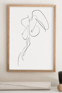 Nude Body Abstract Drawing Feminine Naked Figure Printable Woman Figure Line Art One Line Drawing Erotic Wall Art Bedroom Minimal Art Abstract Drawings, Abstract Lines, Art Drawings, Pencil Drawings, Abstract Art, Figure Drawing, Line Drawing, Body Drawing, Contemporary Artwork