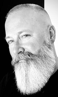 Ultimate Long Beard Guide 13 Best Long Beard Styles For Men To Try In 2019 # Braids for men beauty # Braids for men beauty Bald Men With Beards, Bald With Beard, Grey Beards, Long Beards, Moustache, Beard No Mustache, Long Beard Styles, Hair And Beard Styles, Long Goatee