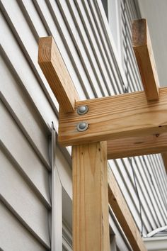 Bolt checking is top importance for pergola maintenance, since wind and wear can loosen them over time. Check your arbor or pergola today! Curved Pergola, Small Pergola, Pergola Attached To House, Deck With Pergola, Wooden Pergola, Pergola Patio, Pergola Plans, Pergola Kits, Rustic Pergola