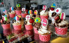 What team do you cheer for in the world cup? Here are our specials in June 2014 at Le Macaron - World Cupcake #PinoftheDay #worldcupcakes #worldcup