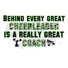 Aww! My coach is like our mother and my team are like my brothers and sisters! We are a cheer family!