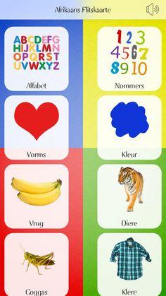 Afrikaans flitskaart Preschool Learning Activities, Preschool Printables, Preschool Classroom, Classroom Activities, Book Activities, Kids Learning, Speech Language Pathology, Speech And Language, Afrikaans Language