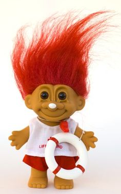 Troll Red Haired Doll
