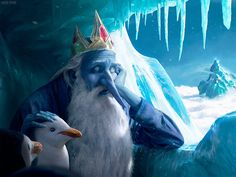 The Ice King From Adventure Time