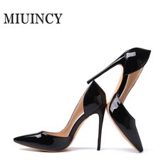06a3f1c12b19 2017 New women s Patent Leather Party Shoes high heels Pointed Toe Bandage  Stiletto sandals Brand Women Pumps-in Women s Pumps from Shoes on  Aliexpress.com ...