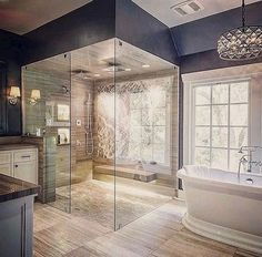 Small bathrooms may seem like a difficult design task to take on; however, these spaces may introduce a clever design challenge to add to your plate. Creating a functional and storage-friendly…MoreMore #bathroomremodeling
