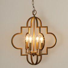 Aldridge 4 Light Pendant  Wayfair $166