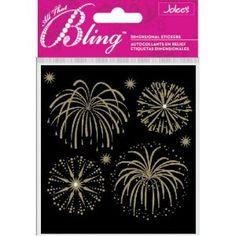 Jolee's Boutique Bling, Fireworks Gold