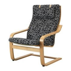 My comfy Poang chair from IKEA :) More comfy than it looks (esp with it's ottoman)...