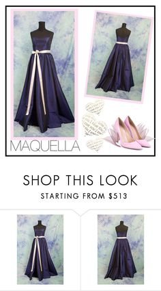 """""""MAQUELLA  1/5"""" by elma-993 ❤ liked on Polyvore featuring Gianvito Rossi"""