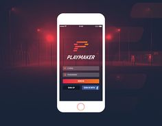 "Check out new work on my @Behance portfolio: ""Playmaker - App Design"" http://be.net/gallery/50293529/Playmaker-App-Design"