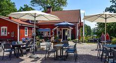 Gräddhyllan lantcafé, Markaryd – Kulturbilder Gazebo, Outdoor Structures, Outdoor Decor, Home Decor, Corona, Kiosk, Decoration Home, Room Decor, Pavilion
