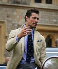 David Gandy judging at #ConcoursOfElegance yesterday at Windsor Castle