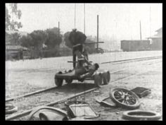 309. Our hero and the janitor on a handcar | Fast and Furious (1924)