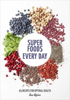 I can barely contain my excitement for Super Foods Every Day ($15). The book layout makes clean eating seem...