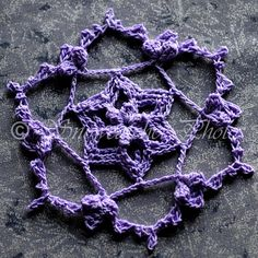 Snowing Up Snowflake - free crochet pattern from Snowcatcher.