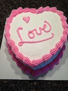 Valentine's Day cake 2/1/15