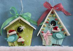Sweet birdies christmas cookies | Flickr - Photo Sharing!