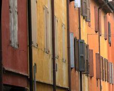 Façade [Bologna-Streets], by Karl Seitinger 2014 Bologna, Street Photography, Facade, Italy, Windows, Doors, Gallery, Unique, Artwork