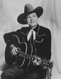 """""""Tex Ritter was born on this date in Old Country Music, Country Western Singers, Country Music Artists, Country Music Stars, Western Movies, Vintage Country, Tex Ritter, John Ritter, Old Singers"""