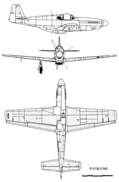 Looking for technical drawings of P-51 B mustang.