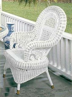 Old Wicker Furniture.