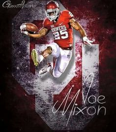 Joe Mixon #25 #OU #Sooners #Football #BoomerSooner