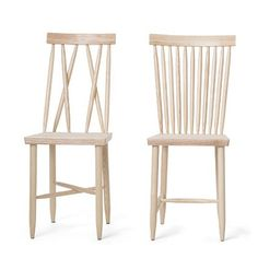 Design House Stockholm Family Chair 1+2 by Lina Nordqvist