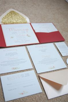 Real DIY Wedding Invitation Suite - Hopefully I can be creative enough to do this!!!