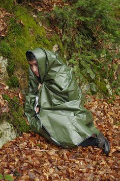 Wie eine Rettungsdecke funktioniert und was man beim Gebrauch beachten sollte ~ Prepper Survival / Krisenvorsorge / Fluchtrucksack
