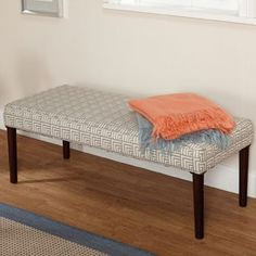 Shop for Simple Living Natalie Contemporary Upholstered Bench. Get free shipping at Overstock.com - Your Online Furniture Outlet Store! Get 5% in rewards with Club O! - 16357190