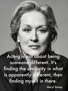 Quote - Meryl Streep