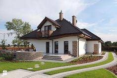 Dom w zefirantach (G2) - Realizacja - zdjęcie od ARCHON+ Biuro Projektów - Domy - Styl Nowoczesny - ARCHON+ Biuro Projektów