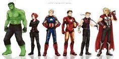 Resultado de imagen para avengers anime marvel