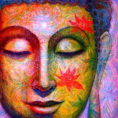 Items similar to Buddha poster Spiritual Art lotus meditation Zen Buddhist Buddhism artwork print of painting by Sue Halstenberg on Etsy Art Buddha, Buddha Zen, Buddha Painting, Painting Canvas, Buddha Artwork, Buddha Face, Yoga Zen, Spiritual Paintings, Poster Art