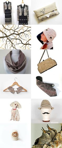 Beige collection by Natalia on Etsy--Pinned with TreasuryPin.com