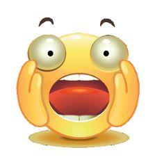 Imoji Shock From Powerdirector Animated Smiley Faces, Funny Emoji Faces, Animated Emoticons, Emoticon Faces, Funny Emoticons, Animated Gif, Emoji Images, Emoji Pictures, Naughty Emoji