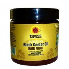 This Hair Food Moisturizer by Tropic Isle has some of the best Ingredients for your hair such as Neem Oil, Castor oil, Shea Butter, Grape seed oil and more. Excellent for hair breakages, thinning and dry hair. Find at Beauty Coliseum. Grow Thicker Hair, Grow Hair, New Hair Growth, Natural Hair Growth, Castor Oil For Hair, Hair Oil, Natural Hair Care Tips, Natural Hair Styles, Jamaican Black Castor Oil